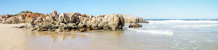 Beach Panorama. Royalty Free Stock Photography