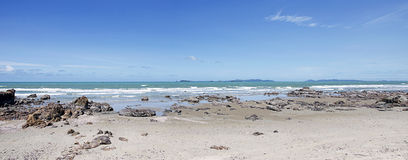 Beach panoramas Royalty Free Stock Images