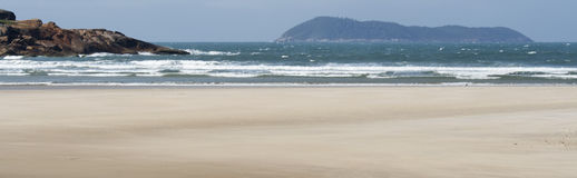 Beach - Panoramic Royalty Free Stock Photography