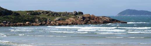 Beach - Panoramic Stock Image