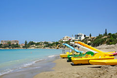 Beach in Paphos Royalty Free Stock Photography