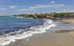 Beach in Paphos, Cyprus. Stock Photos