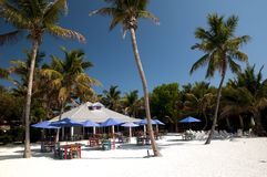 Beach on Paradise Stock Image