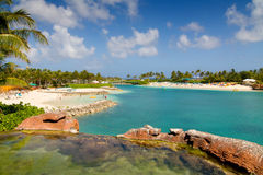 Beach at Paradise Island Stock Photography
