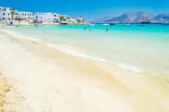 Beach paradise and turquoise waters of Koufonisia Stock Photo