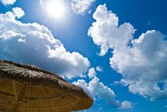 Free Beach Parasol Royalty Free Stock Image - 9760736