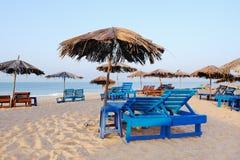 Beach Parasols Stock Images