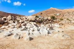 Beach on Paros island royalty free stock photos