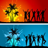 Beach parties Stock Photo