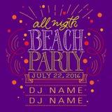 Beach Party Stock Photos