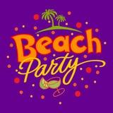 Beach Party Royalty Free Stock Photo