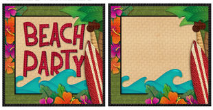 Beach Party Royalty Free Stock Image