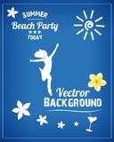 Beach Party Stock Photography