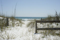 Beach Path. Near Pensacola Beach, Florida Royalty Free Stock Photo