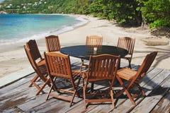 Beach Patio Stock Image
