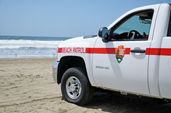 Beach Patrol Stock Image