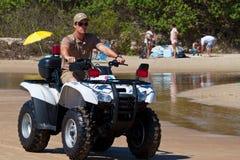 Beach patrol royalty free stock photos
