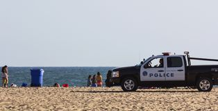 Beach patrol Royalty Free Stock Photography