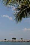 Beach Pattaya Ban Ambur Royalty Free Stock Photo