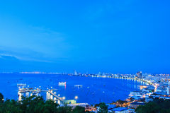 Beach of Pattaya Stock Images