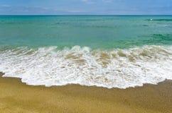 Beach pattern Stock Image