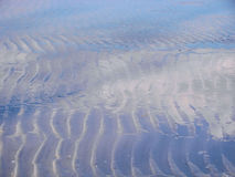 Beach patterns stock photography