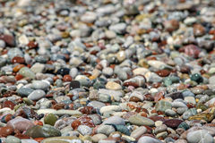Beach pebble Stock Photography