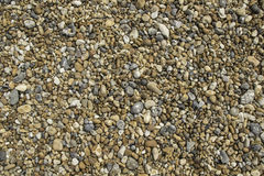 Beach Pebble Stone Texture Stock Image