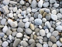 Beach pebbles. Landscape photo of pebbles on a beach stock photography
