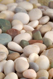 Beach pebbles background Royalty Free Stock Photo