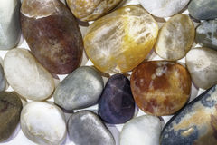 Beach Pebbles close up Royalty Free Stock Images