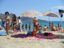 Beach people Royalty Free Stock Photos