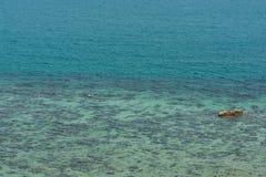 Beach perfect emerald water Stock Photo