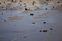 Beach perspective Stock Photo