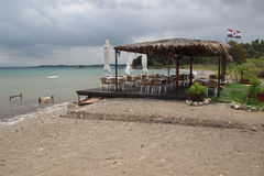 Beach at Petriti, Corfu Stock Photography