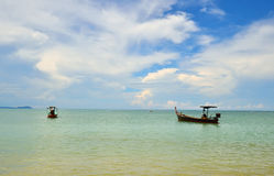 Beach at phang nga province Royalty Free Stock Photography