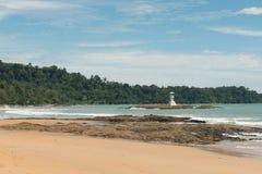 Beach. The beach in phang-nga thailand royalty free stock image