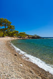 Beach at Phaselis in Antalya, Turkey Royalty Free Stock Photography