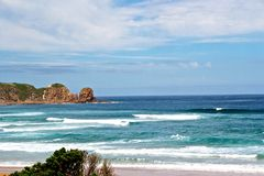 Beach in Philip Island Royalty Free Stock Image