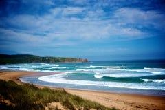 Beach in Philip Island Stock Photo