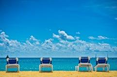 Beach in Philipsburg, Saint Maarten, Carribean Islands. Beautiful beach in Philipsburg, Saint Maarten, Carribean Islands Stock Image