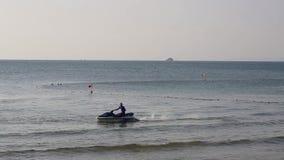 Beach at Phu Quoc island, Kien Giang province, Vietnam. Water sport, Vinpearl Phu Quoc beach in the morning, Phu Quoc island, Kien Giang province, Vietnam. Phu stock footage