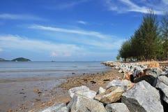 ิฺBeach of Phuket town Thailand Royalty Free Stock Photos