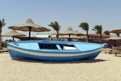Beach picture from Egypt Stock Image