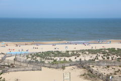 Beach. Picture of the beach in ocean city Maryland usa Royalty Free Stock Image