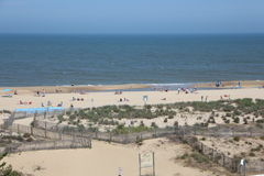 Beach. Picture of the beach in ocean city Maryland usa very busy Stock Image