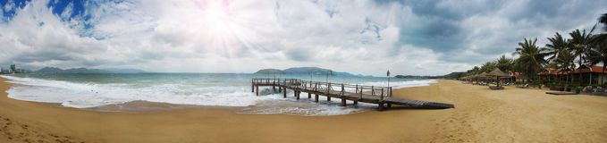 Beach Pier Stock Photography