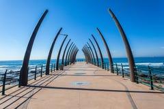 Pier Ocean Tusk Columns Design Royalty Free Stock Image