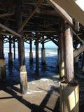 Beach pier Stock Photos