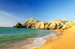 Beach at Pilon de Azucar Royalty Free Stock Photography
